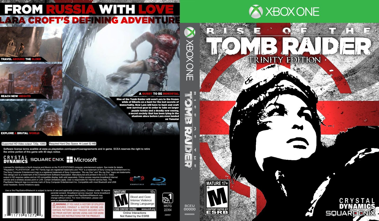 Capa Rise Of The Tomb Raider Xbox One