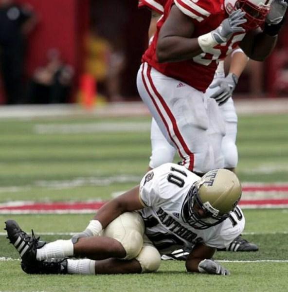 Worst american football injuries