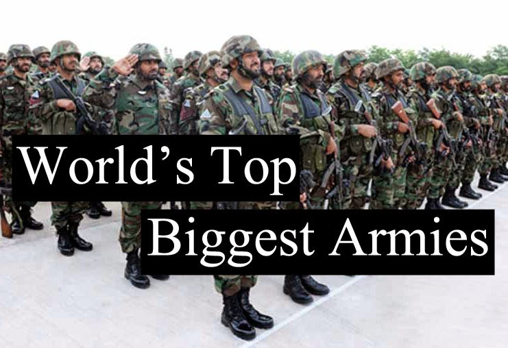 Our earth world s top 15 armies