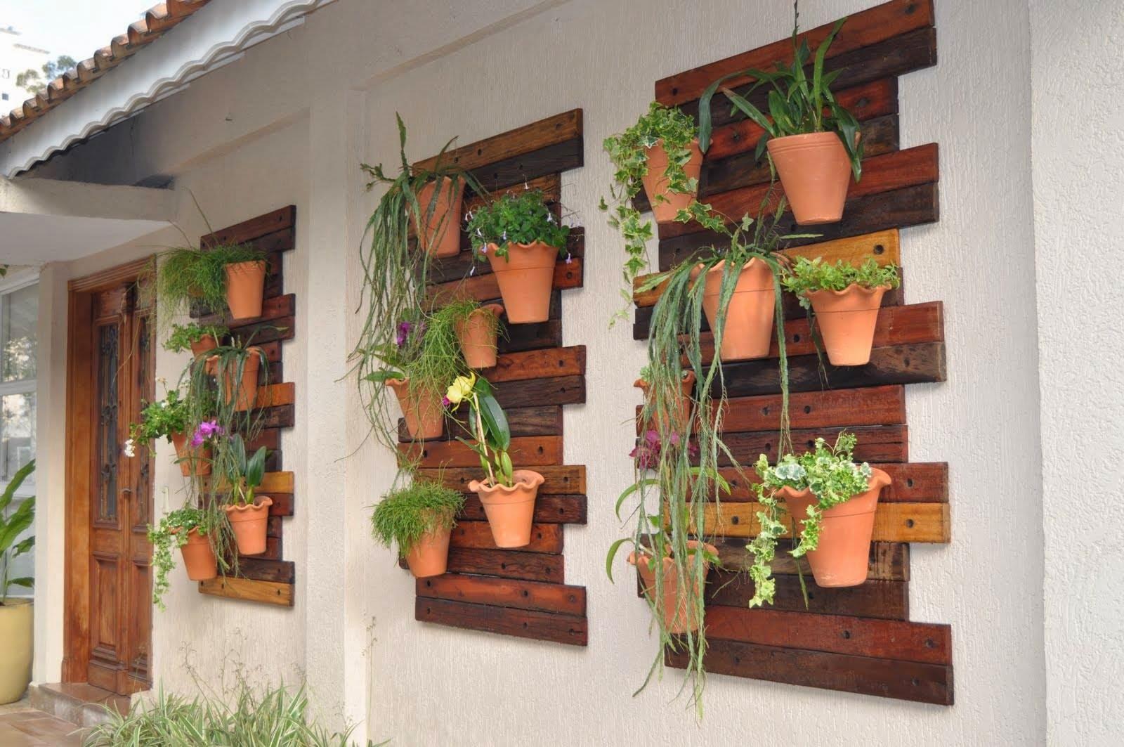 El detalle que hace la diferencia palet mania Jardines verticales baratos
