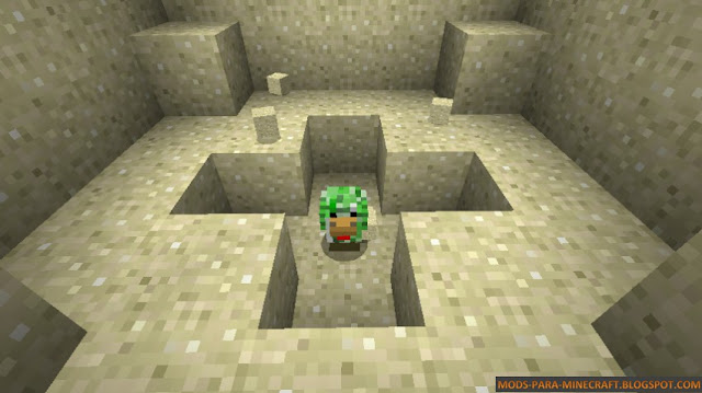 Un pollo creeper !! - Creeper Chicken Mod 1.7.10/1.8