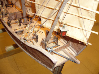 chinese junk model Red Dragon by artesania latina 1/60 scale