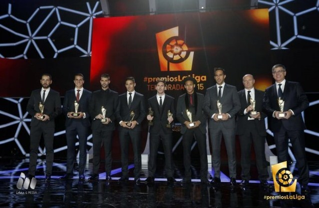 The list of winners of the trophy LFP
