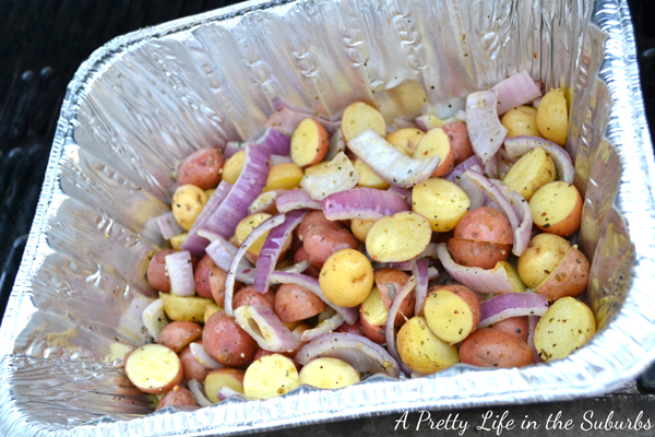 BBQ/Campfire Roasted Potatoes