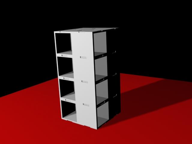 Reno Diseño Industrial Concepción Mueble modular