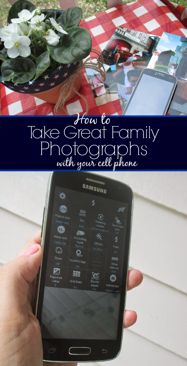 How To Take Great Family Photographs WIth Your Cell Phone #MobileMemories #CollectiveBias Walmart Family Mobile One Savvy Mom