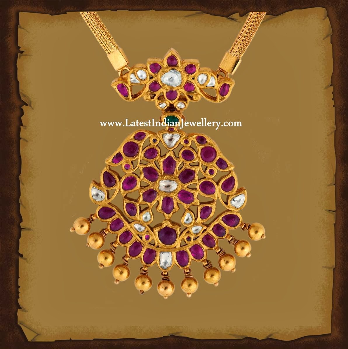 Traditional Ruby Padakkam