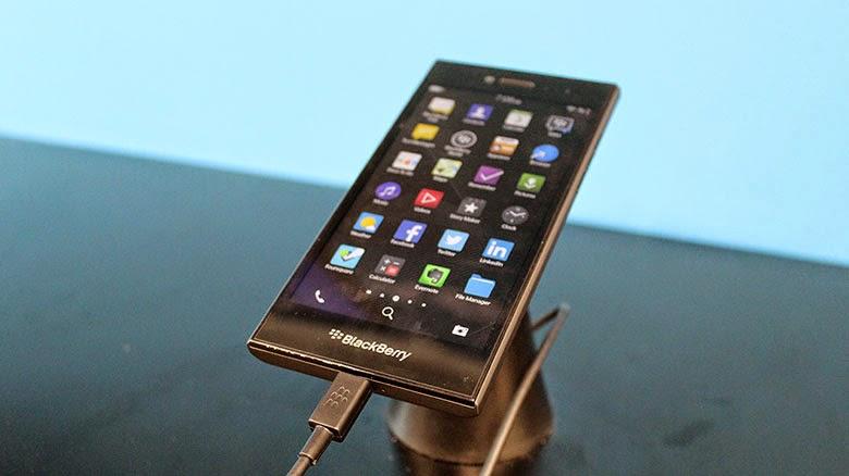 Harga Blackberry Leap, layar sentuh ponsel Blackberry LTE