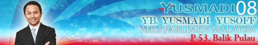 Blog YB Yusmadi Yusoff - MUAFAKAT@BalikPulau