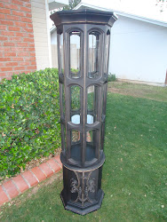 vintage cylinder display case...SOLD