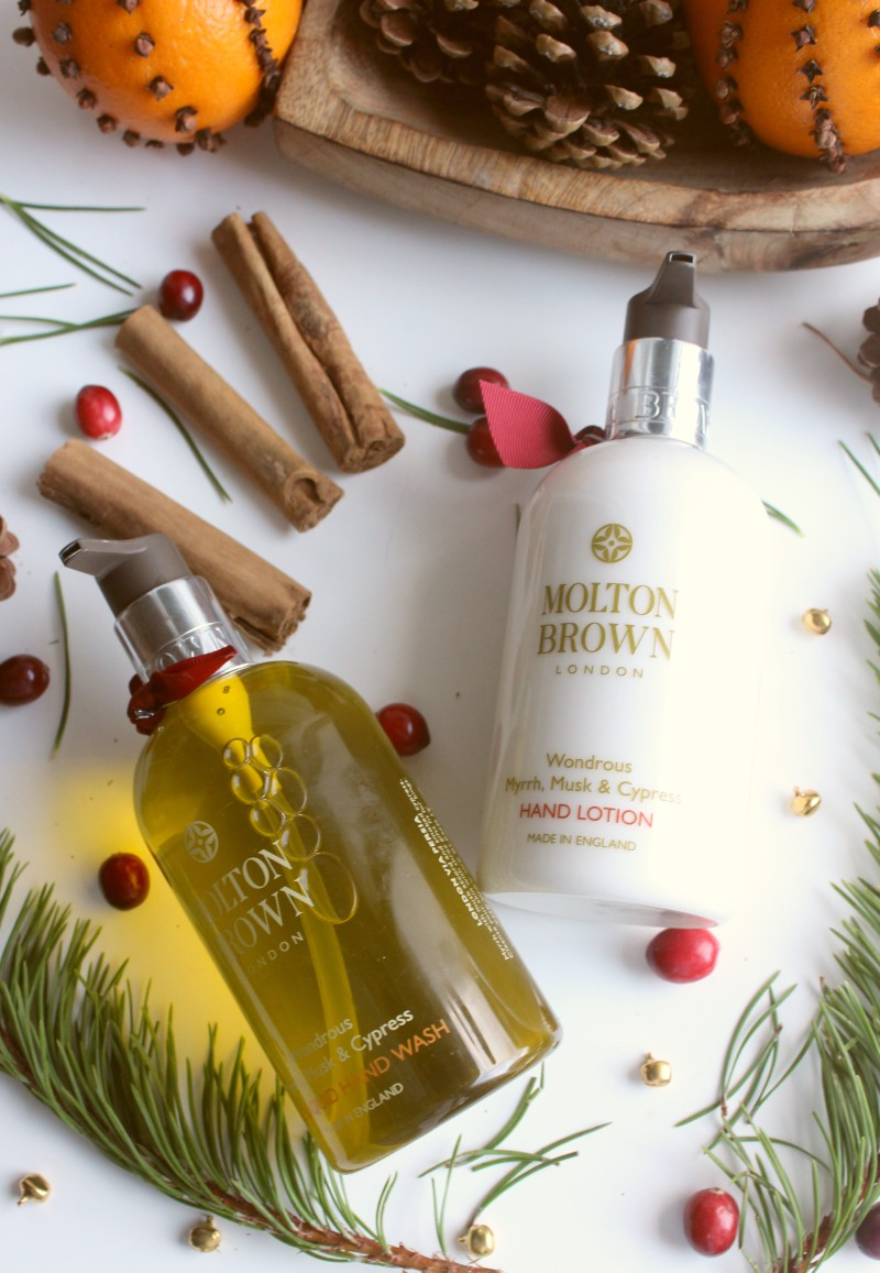 Molton Brown Wondrous Myrrh, Musk and Cypress Hand Wash and Lotion Set Review