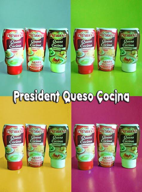 President Queso Cocina variedades