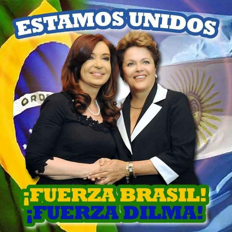 Torcida bolivariana por Dilma superou fronteiras aparentemente insuperáveis!