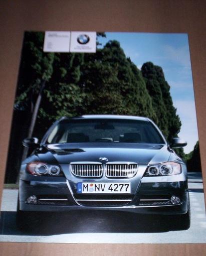 BMW+2007+3+Series+Sedan+Brochure+For+sale