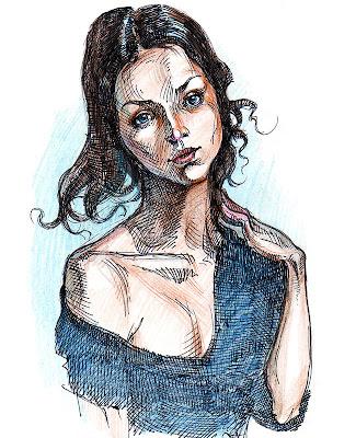 portrait belle femme