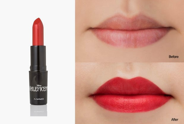 Angelina Jolie's Maleficent Lipstick