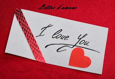Lettre d'amour courte et simple 2 :