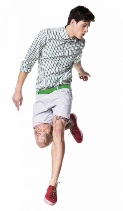 Benetton shorts for men-2