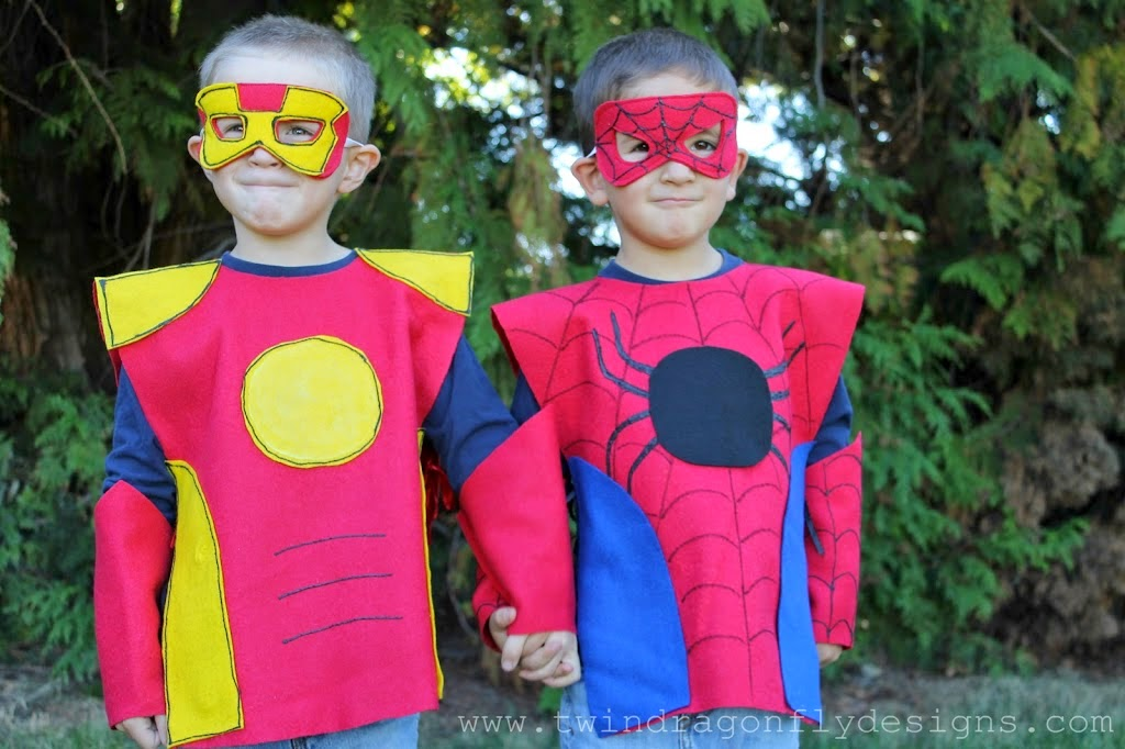 Super Hero Costumes pattern