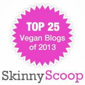 Skinny Scoops Top 25 Vegan Blogs of 2013