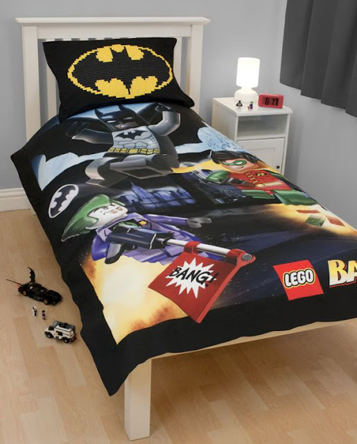 Superhero Bedding Theme For Boys Bedroom Photo