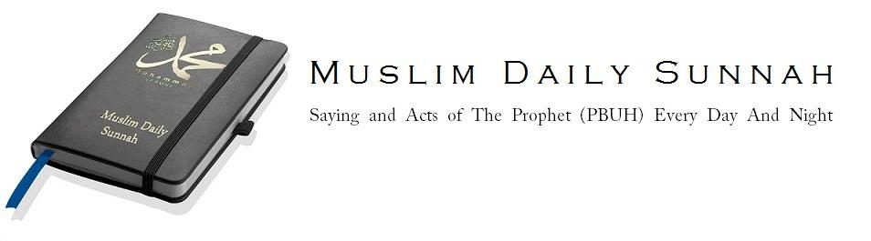 Muslim Daily Sunnah