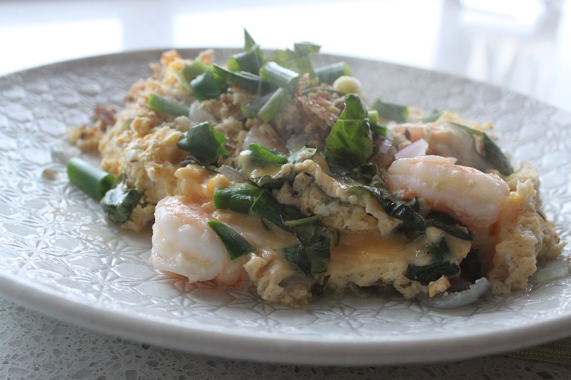 """More than Words: Thai Style """"Pad Thai"""" Omelette"""