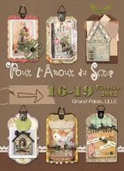 Pour L'Amour du Scrap- February 16-19, 2012