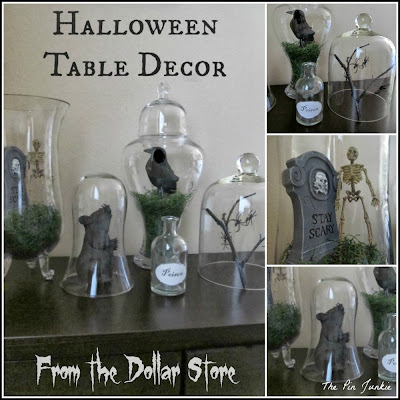 The Pin Junkie Dollar Store Halloween Decor Tablescape