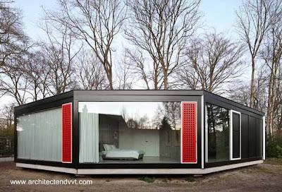 Casa circular contemporánea en Bélgica