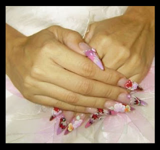 New Valentine Day Nails Designs Pictures