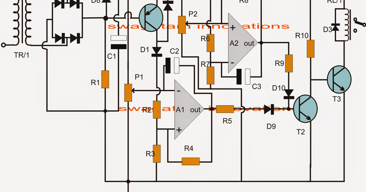 Ups Relay Changeover Circuit With Zero Crossing Detector