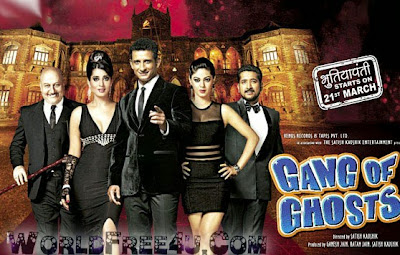 Poster Of Hindi Movie Gang of Ghosts (2014) Free Download Full New Hindi Movie Watch Online At Downloadingzoo.com