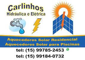 Carlinhos Hidráulica e Elétrica Aquecedores Solar Residencial Aquecedores Solar para Piscinas
