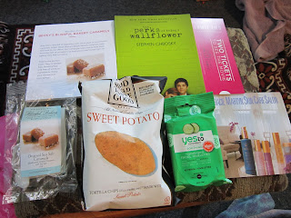 Perks of Being a Wallflower, Say Yes to Cucumbers, Salted Caramel, PopSugar 2012, October Subscription Box
