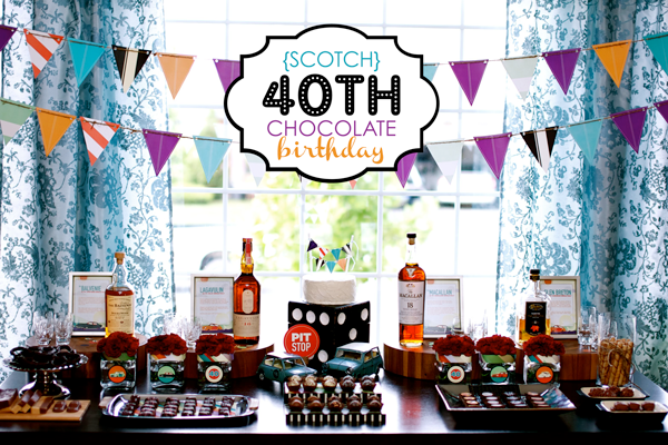 Adult 40th Birthday Party Ideas