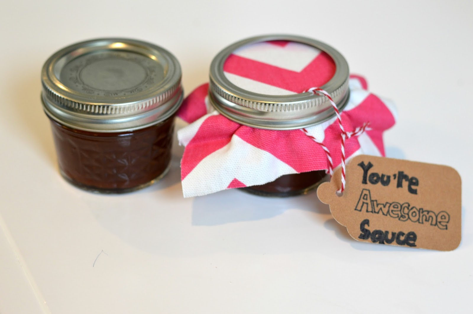 DIY Homemade BBQ Sauce- Valentine's Day Gift | all dressed up with nothing to drink...