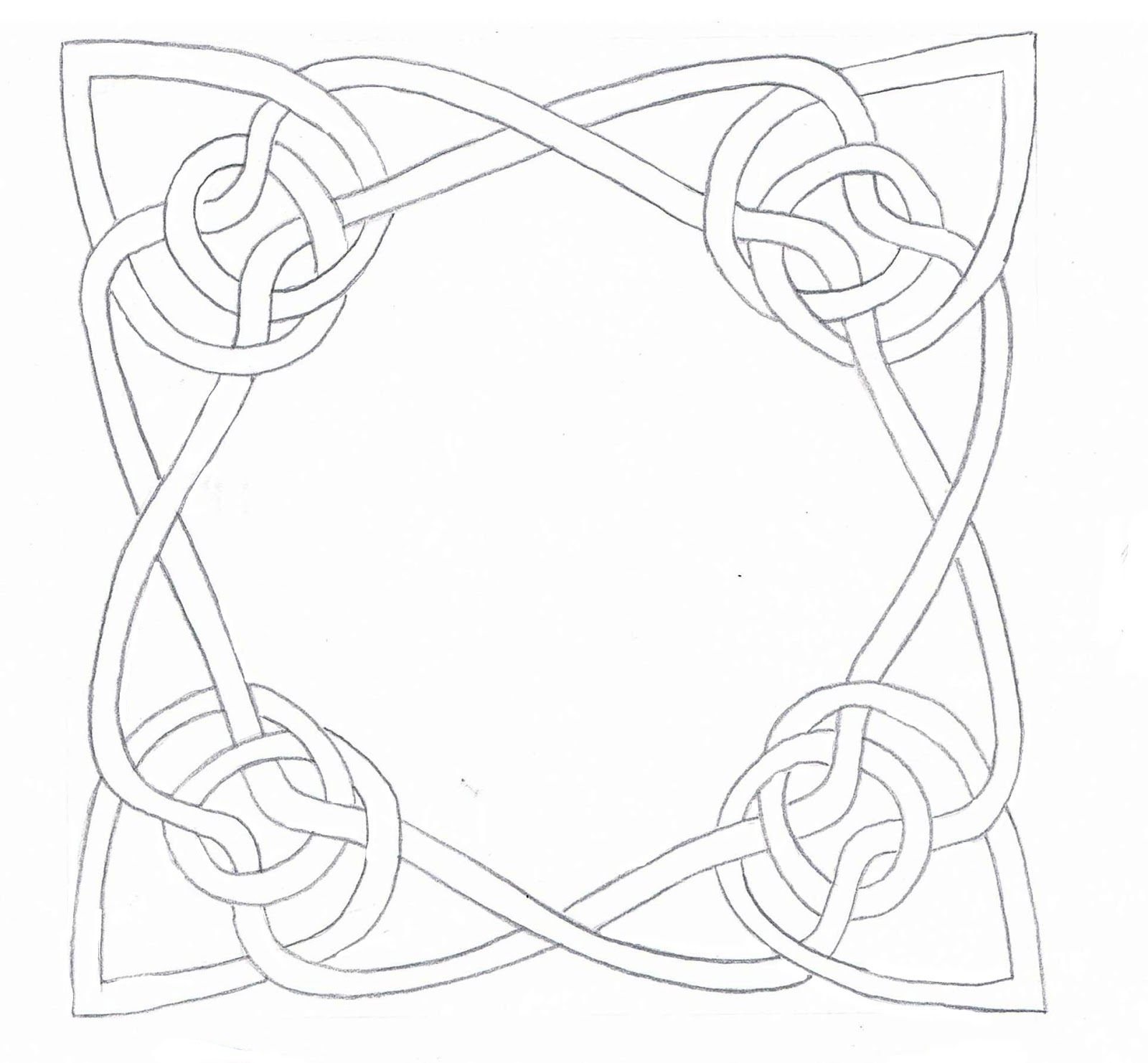 creative doodling with judy west how to design celtic knot patterns - Celtic Patterns To Colour