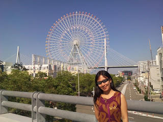 Osaka Japan Tempozan Harbor Village Tempozan Giant Ferris Wheel