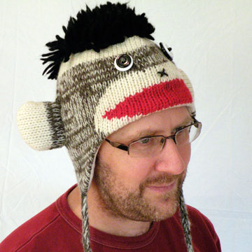 Knitting Pattern Baby Sock Monkey Hat : KNITTED SOCK MONKEY HAT PATTERN 1000 Free Patterns