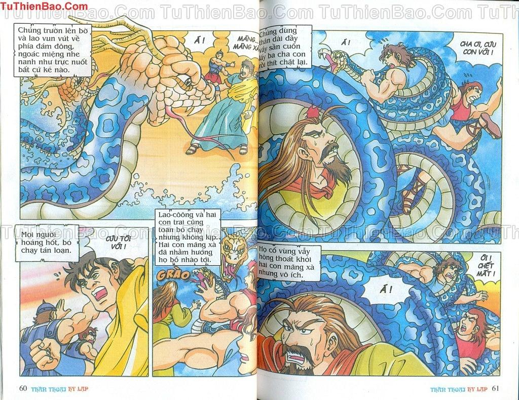 Thần thoại Hy Lạp Chapter 14 - Trang 29