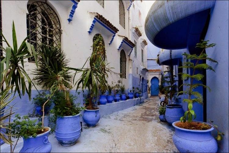 pintoresca ciudad en marruecos