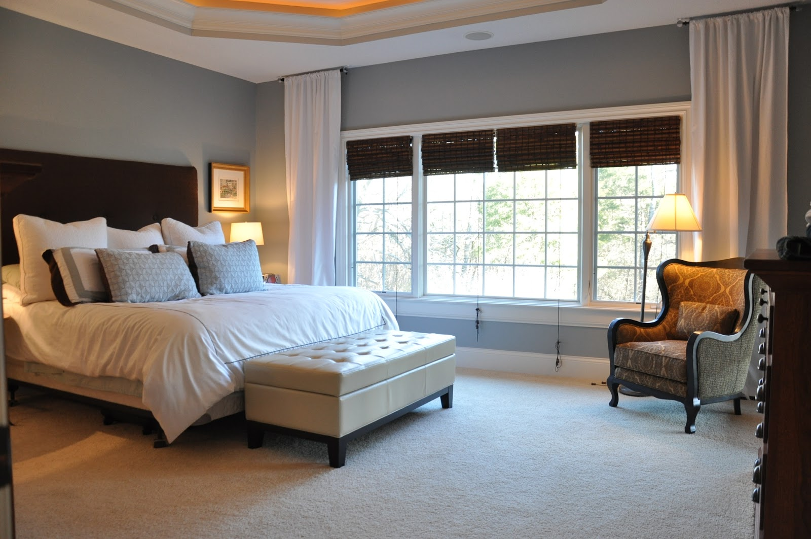Guest color palette jenny from evolution of style for Best master bedroom colors benjamin moore