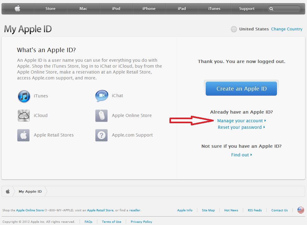 Как сделать id в apple