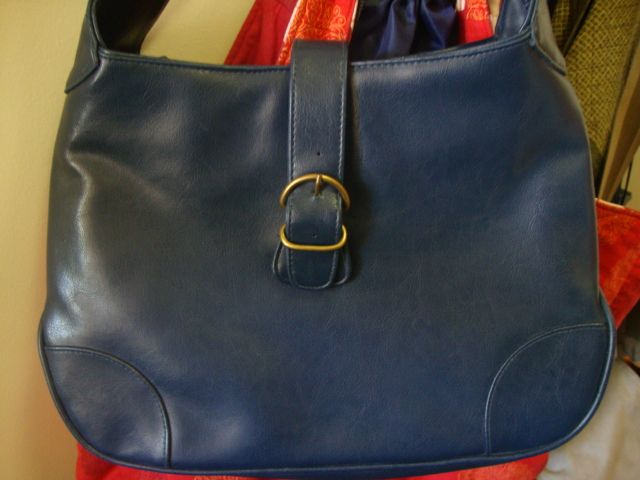 picture of blue bag
