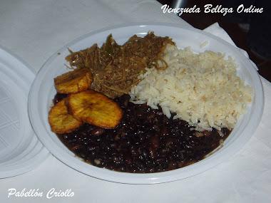Que rico pabellon en Aragua es el mejor sabor