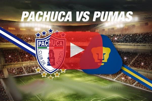 Pachuca vs Pumas En Vivo