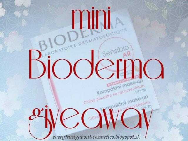 Mini Bioderma Giveaway :)