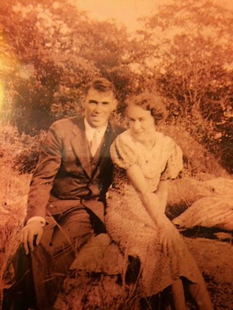 My Grandparents ~ Jack and Anna Wheeler