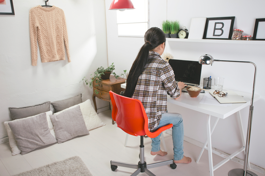 Feeling at home with the freelance lifestyle
